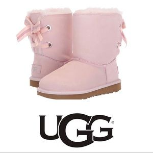 UGG Customizable Baily Bow Genuine Shearling Boot